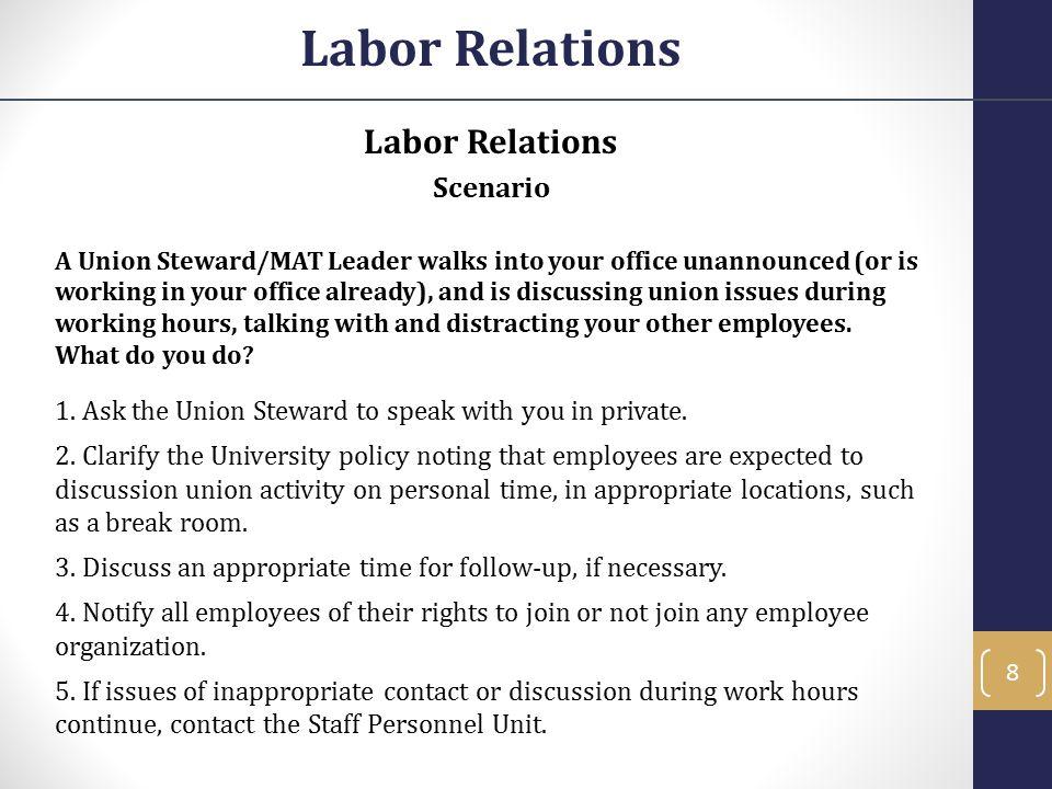 Unfair Labor Practices Notice Requirements What is Notice.