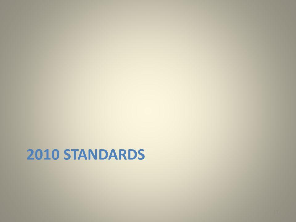 2010 STANDARDS 11