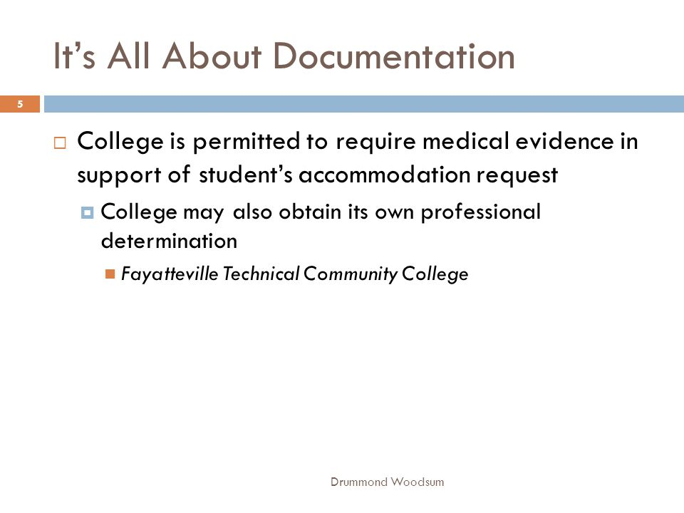 Thou Shalt Not Choke  College did not unlawfully discriminate by suspending student for one year after he attempted to choke his aide Alamance Community College 26 Drummond Woodsum