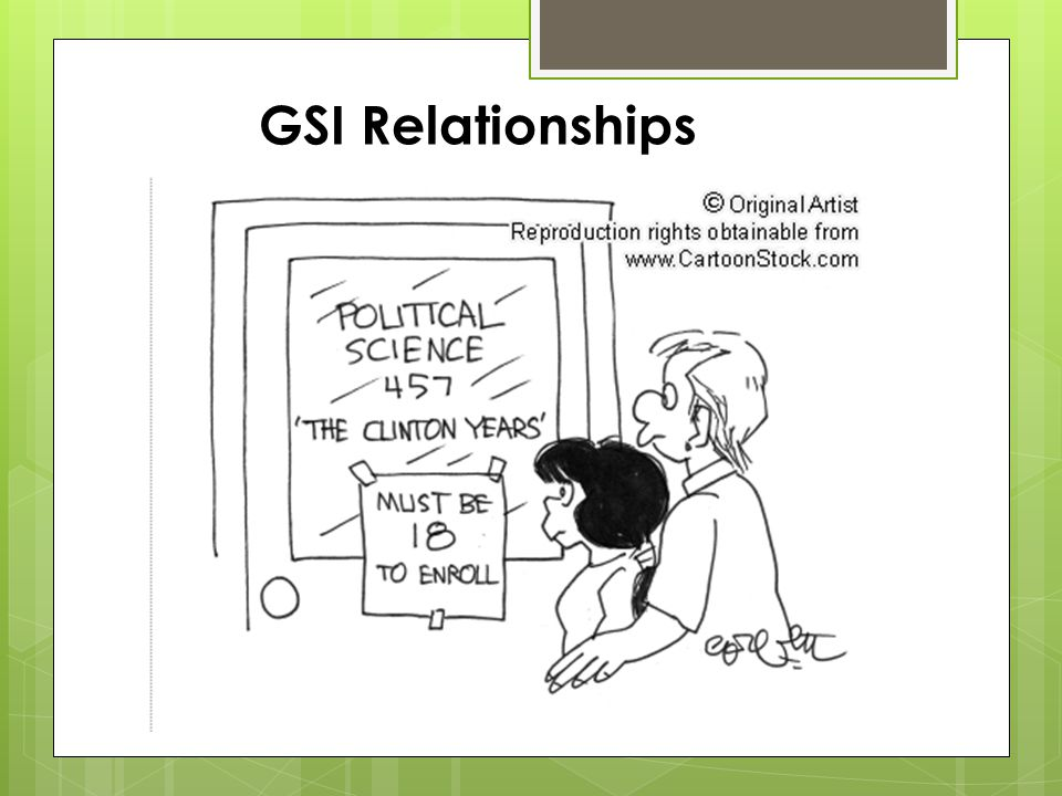 GSI Relationships