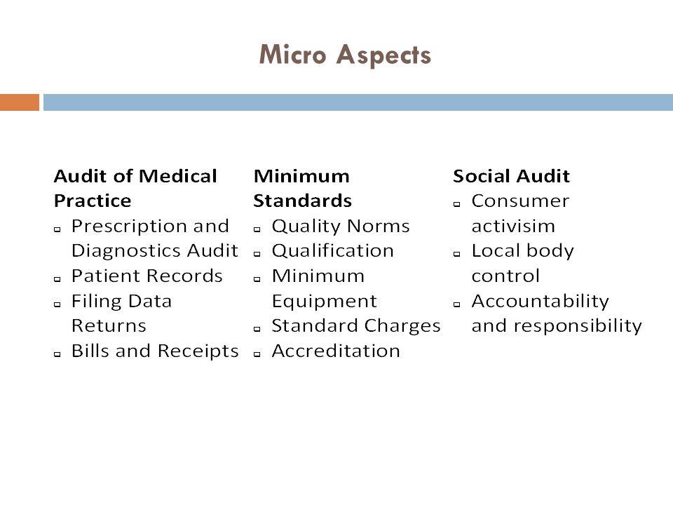 Micro Aspects
