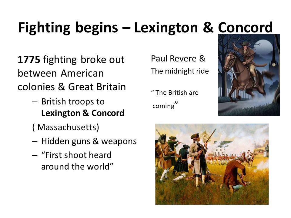 American Revolutionary War Who.American colonies Vs.