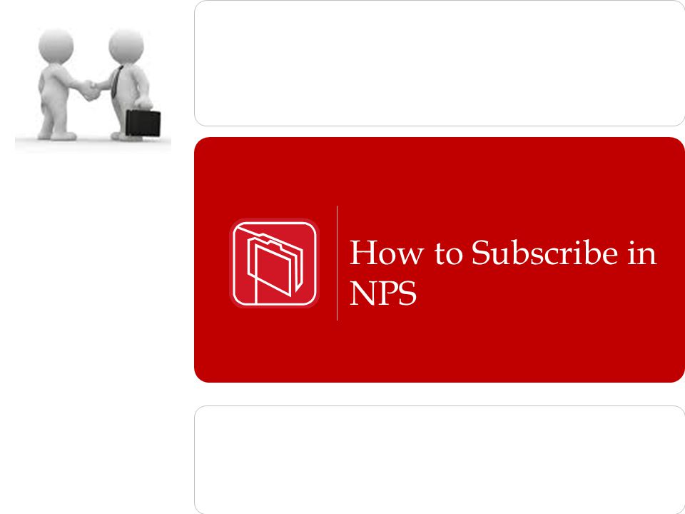 How to Subscribe in NPS