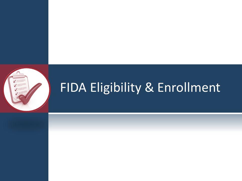 FIDA Eligibility & Enrollment