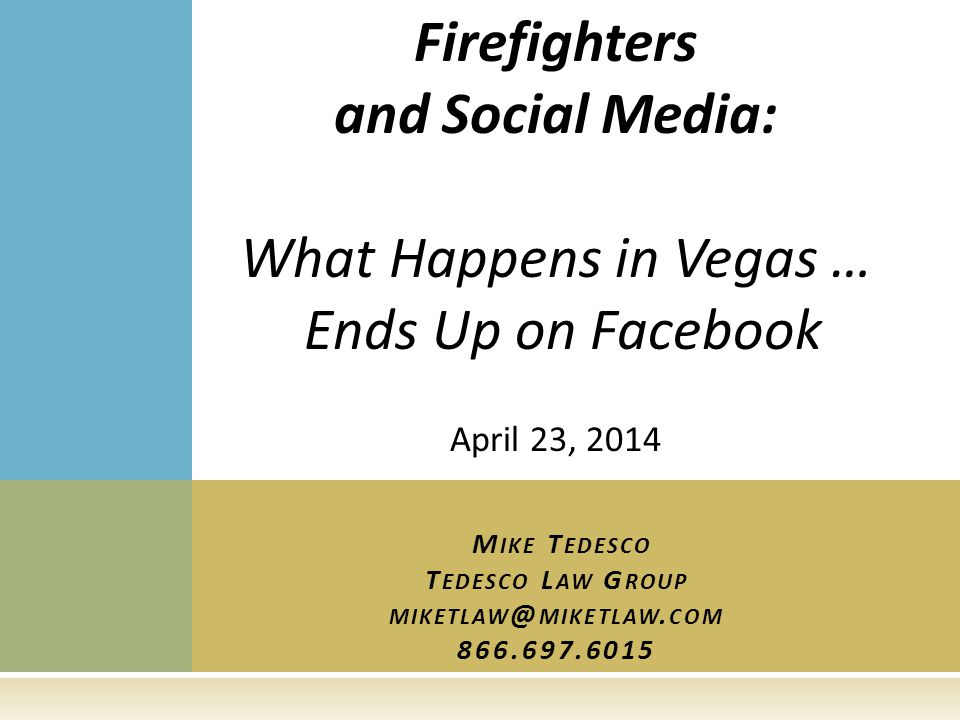 O FF -D UTY C ONDUCT : C ONSIDERATIONS  Has social media changed the off duty conduct analysis.