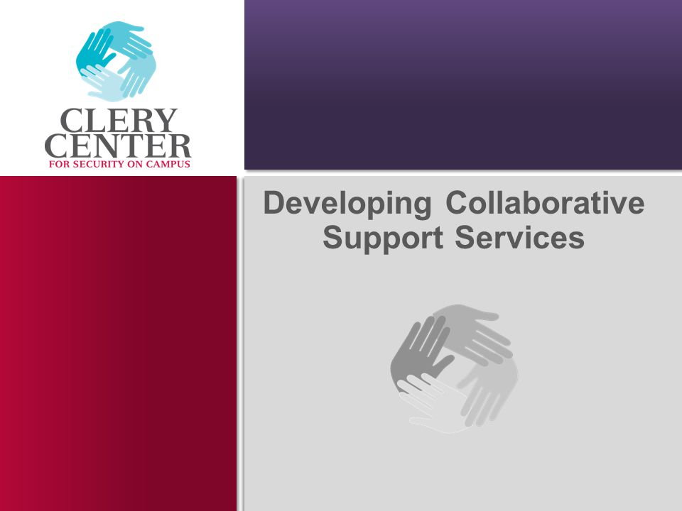 Developing Collaborative Support Services
