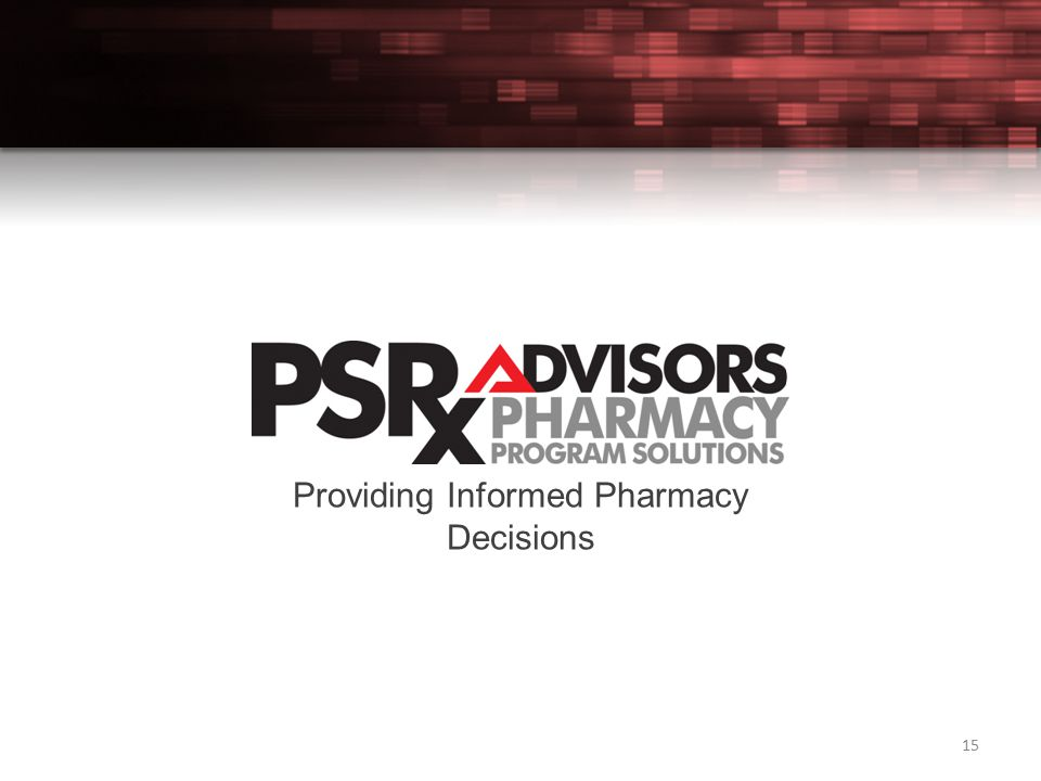 15 Providing Informed Pharmacy Decisions