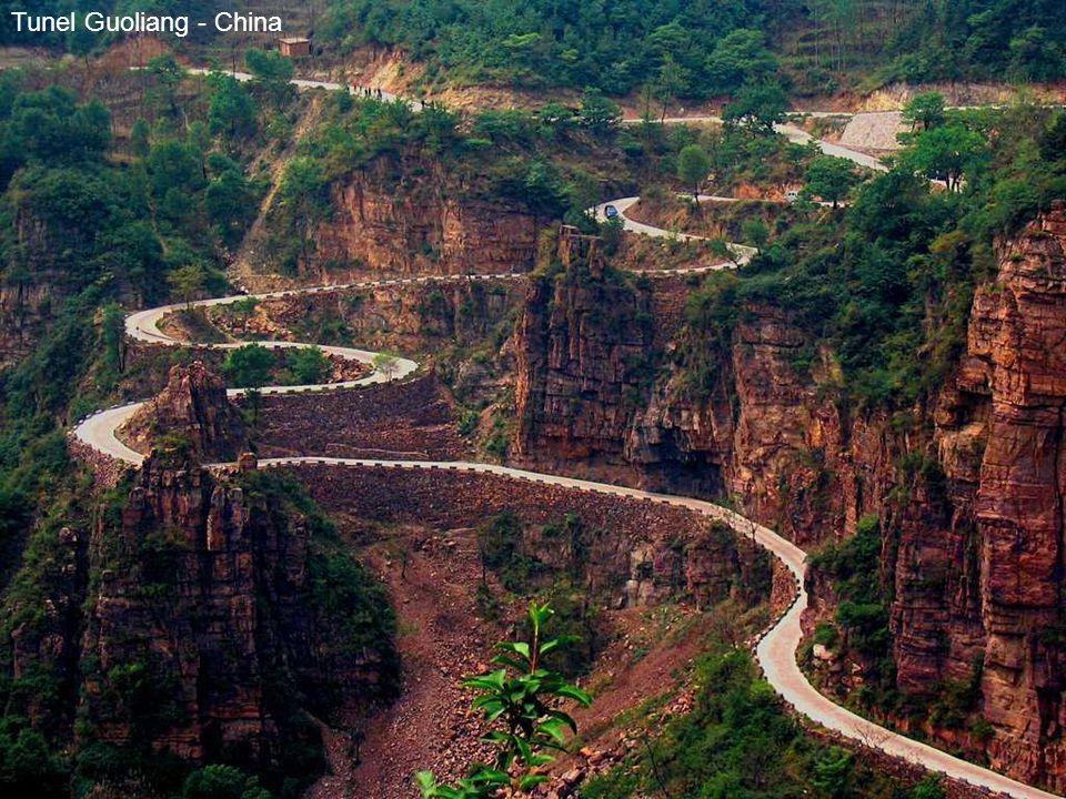 Tunel Guoliang - China