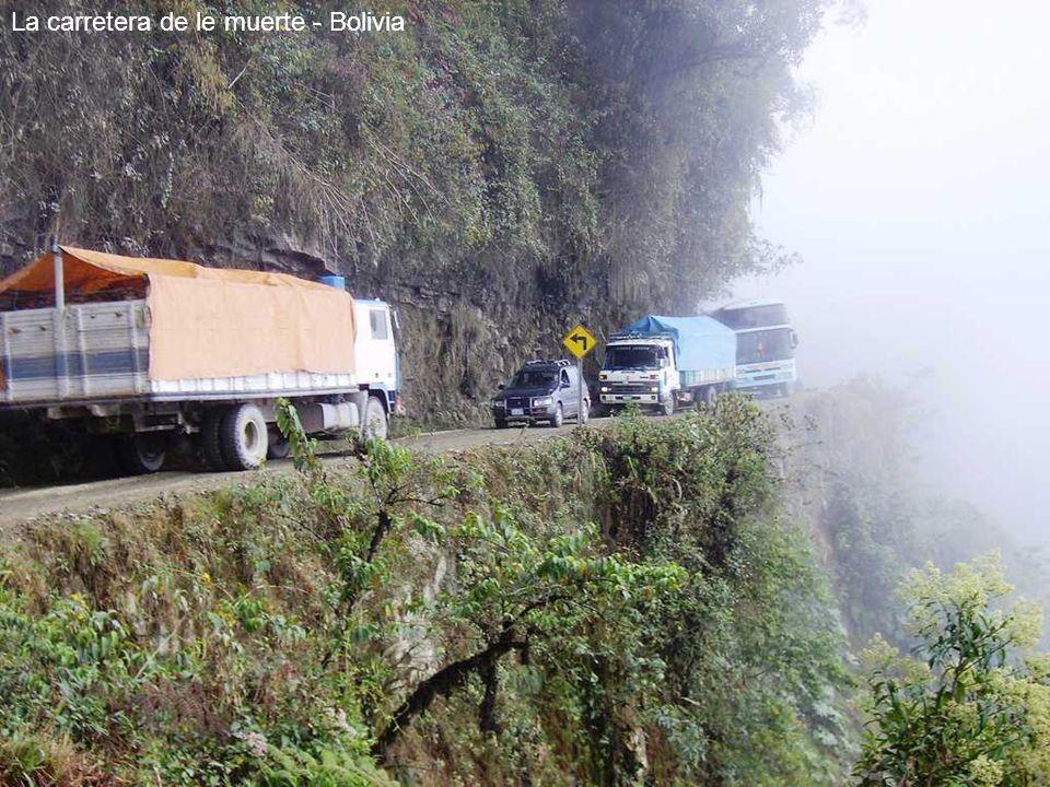 La carretera de le muerte - Bolivia