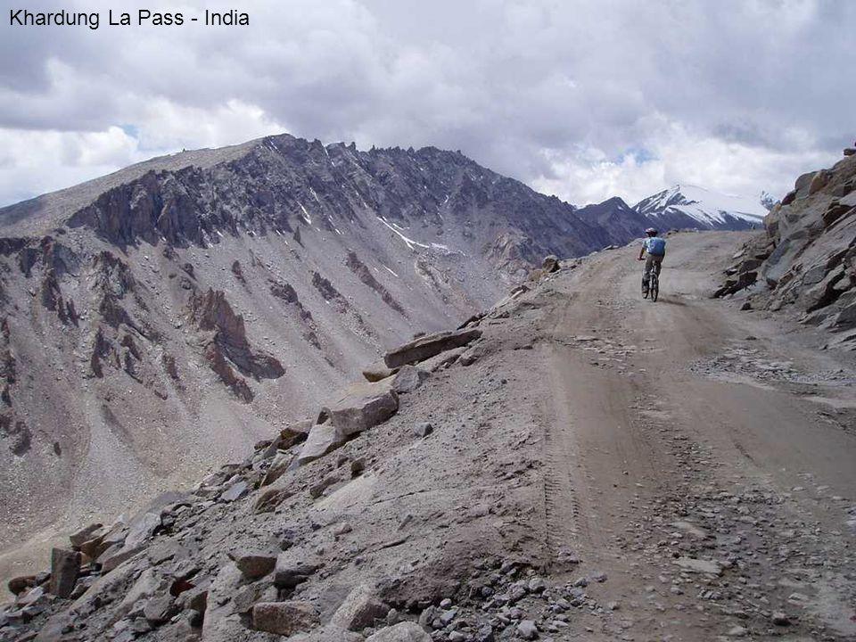 Khardung La Pass - India