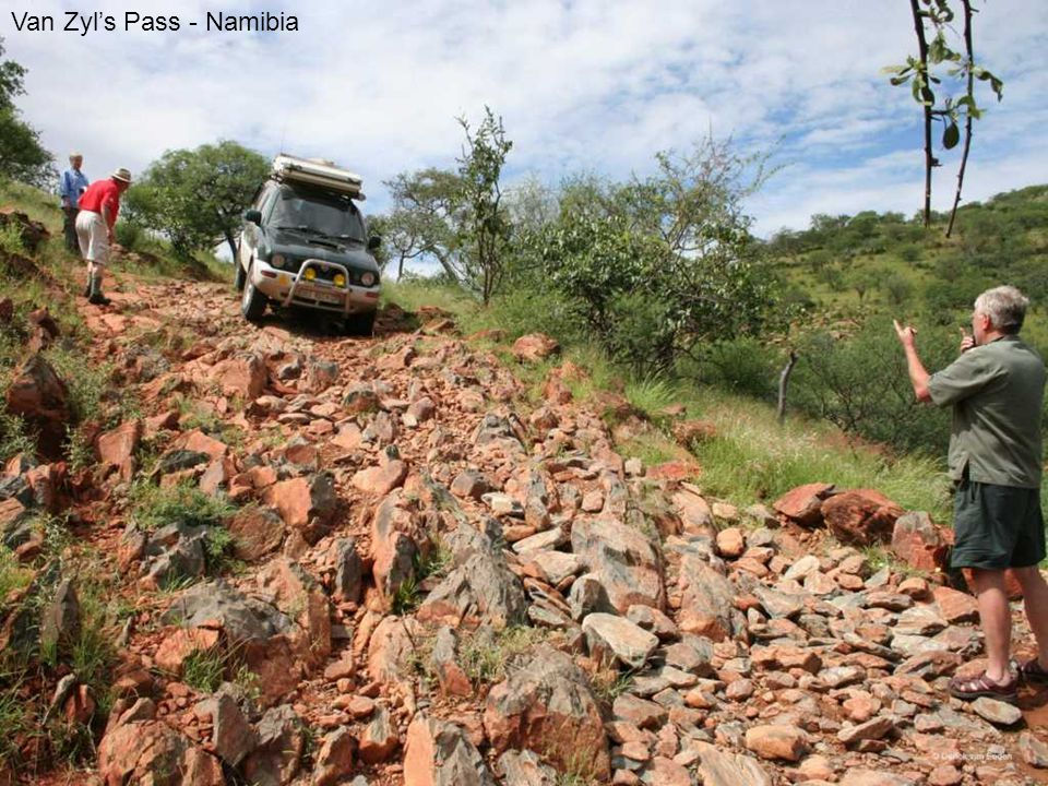 Van Zyl's Pass - Namibia