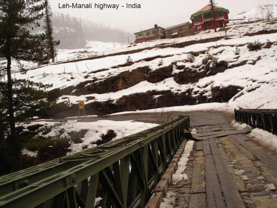 Leh-Manali highway - India