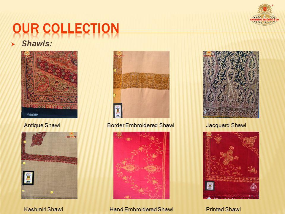  Shawls: Pashmina ShawlMachine Embroidered ShawlPlain Shawl Wool Boil Shawl
