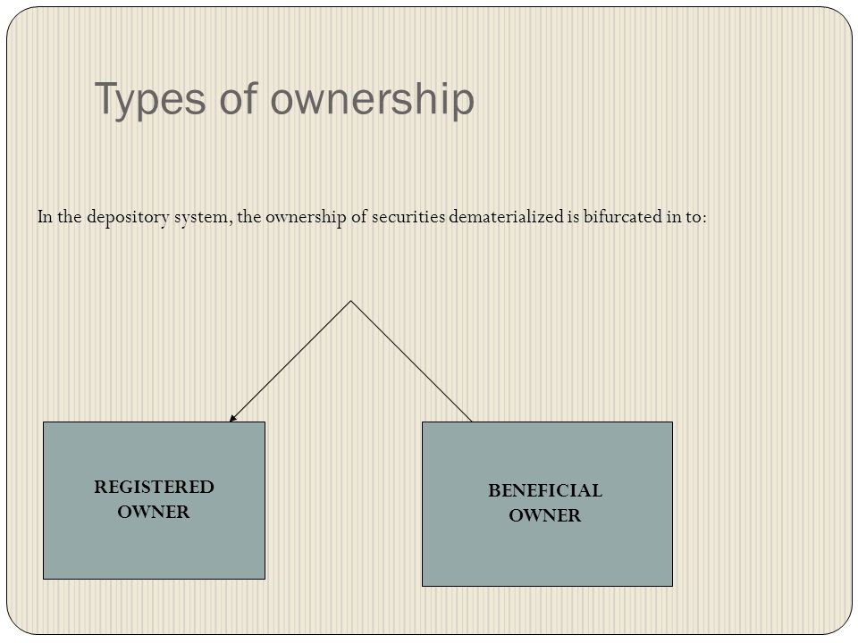 Who can be Depository Participant? In terms of the Depositories Act, 1996, SEBI (Depositories & Participants) Regulations,1996, only the following ent