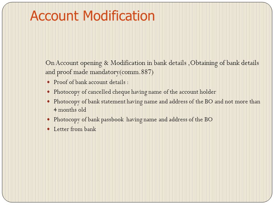Account Opening HUF account cannot have joint holders cannot appoint nominee Observations : -comments given in the report/against checklist point 'No'