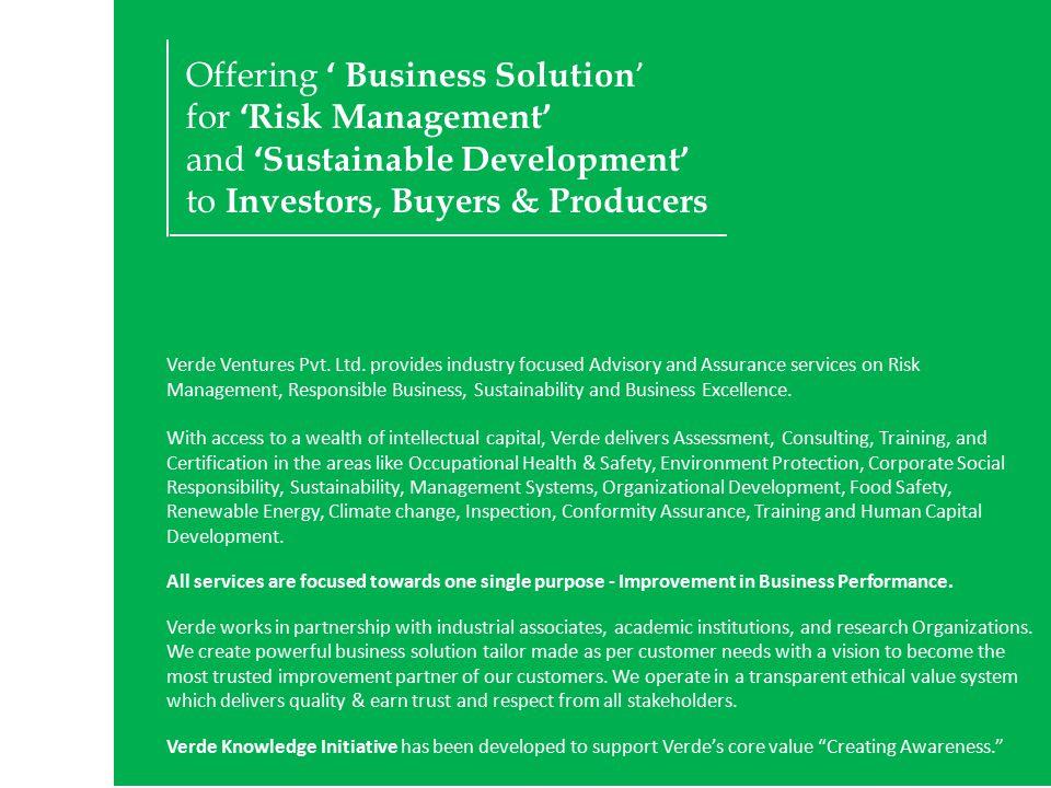 All Rights Reserved.Verde Ventures Pvt. Ltd.