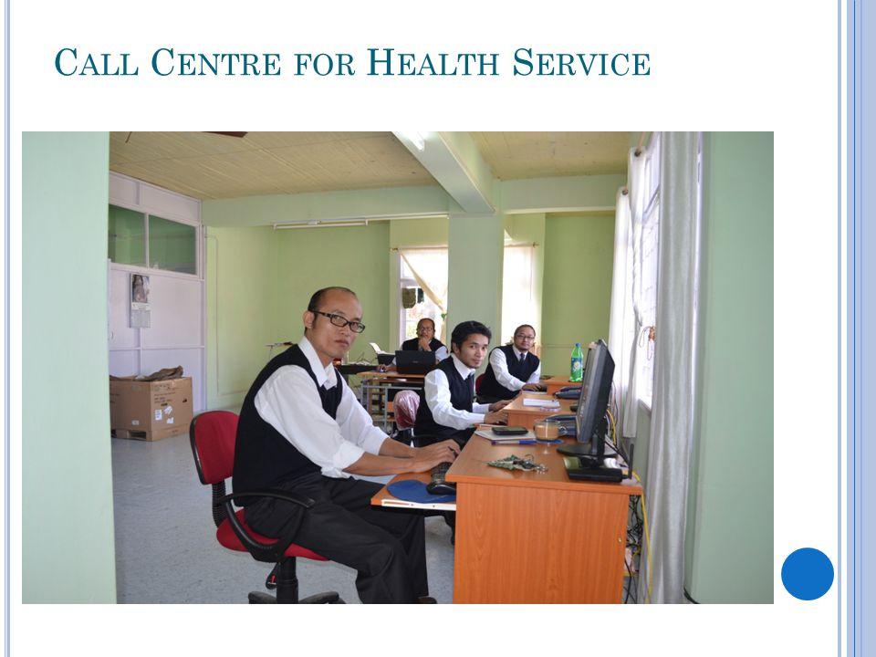 C ALL C ENTRE FOR H EALTH S ERVICE