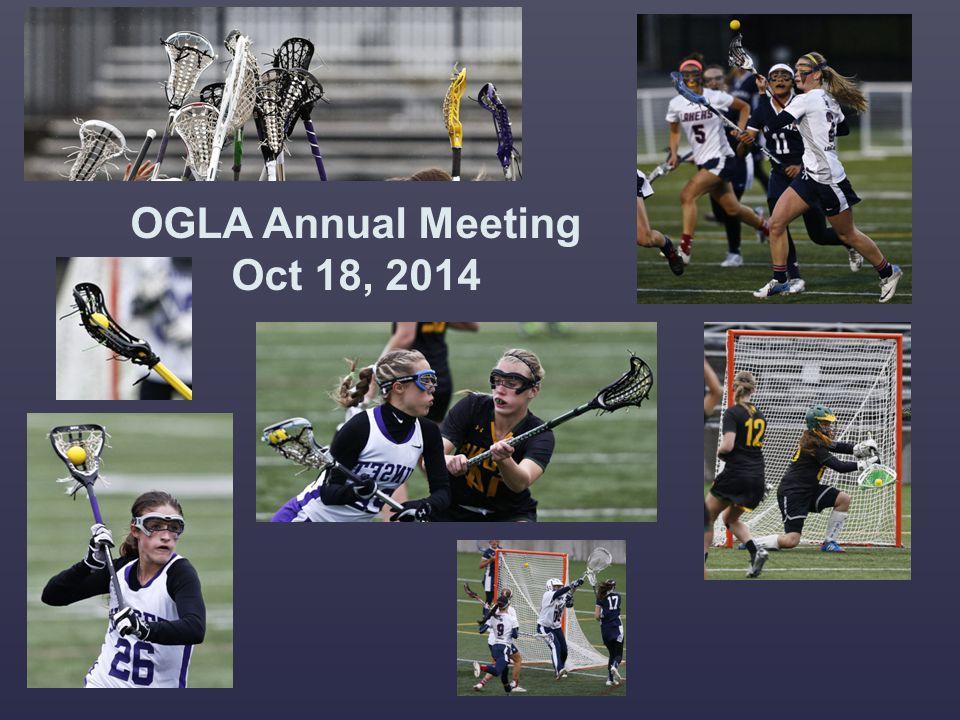 OGLA Annual Meeting Oct 18, 2014