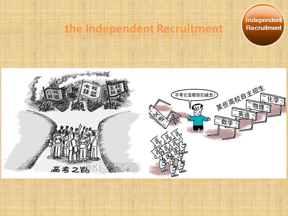 Independent Recruitment