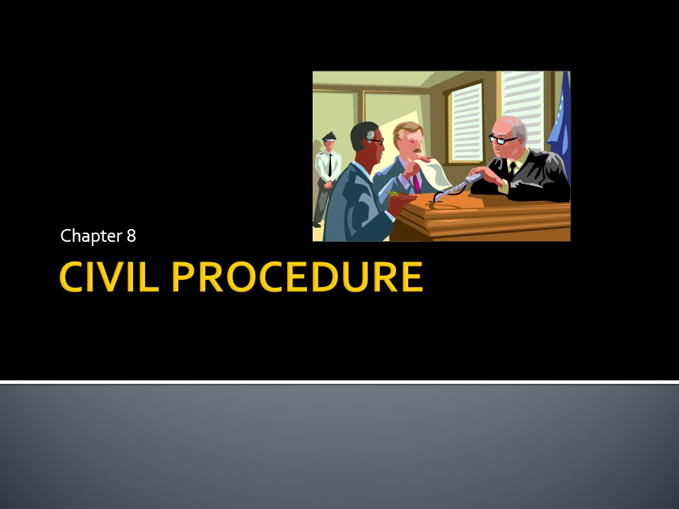  A civil action relates to an act or omission that infringes the rights of a person, group or government instrumentality and seeks to return the party whose rights have been infringed to their original position before the harm occurred.