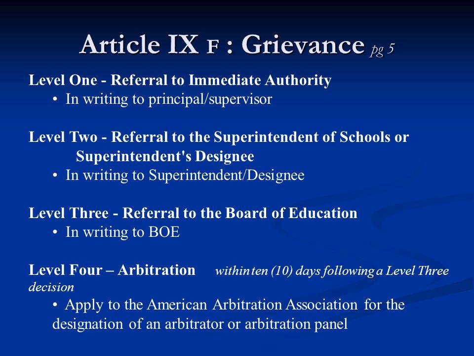 Article XVIII a