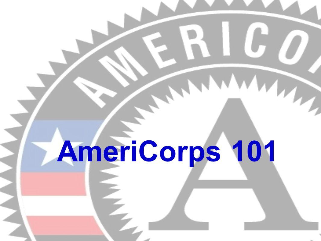 AmeriCorps 101