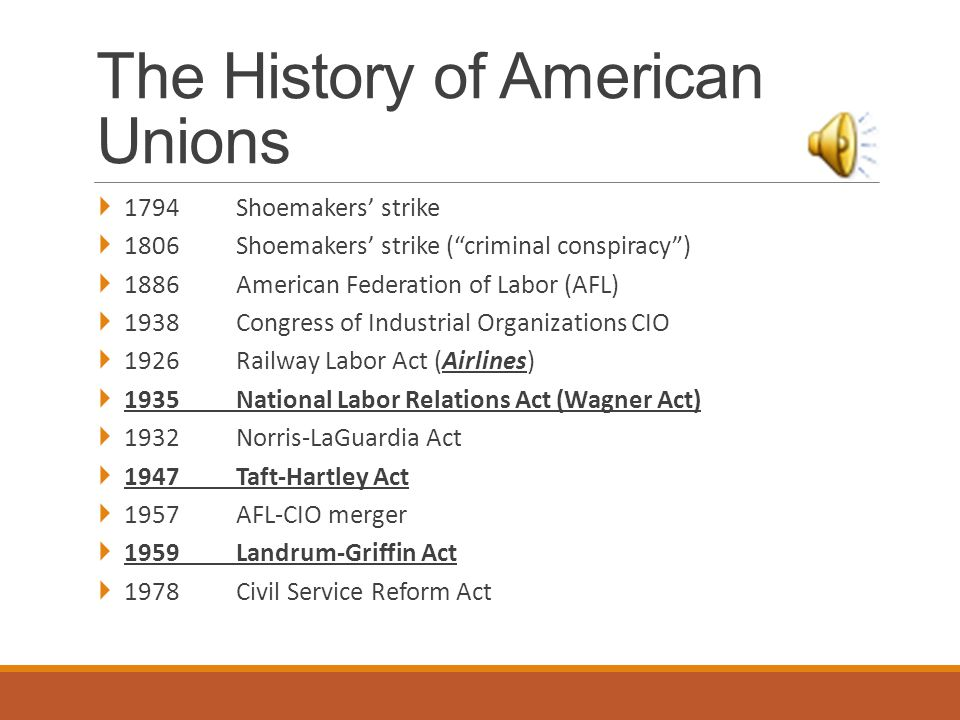 Reasons for Union Decline in the U.S.