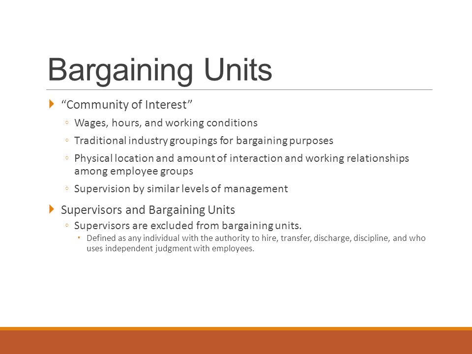 Unfair Labor Practices: Employer Interfering with the organizing and collective bargaining rights of employees.