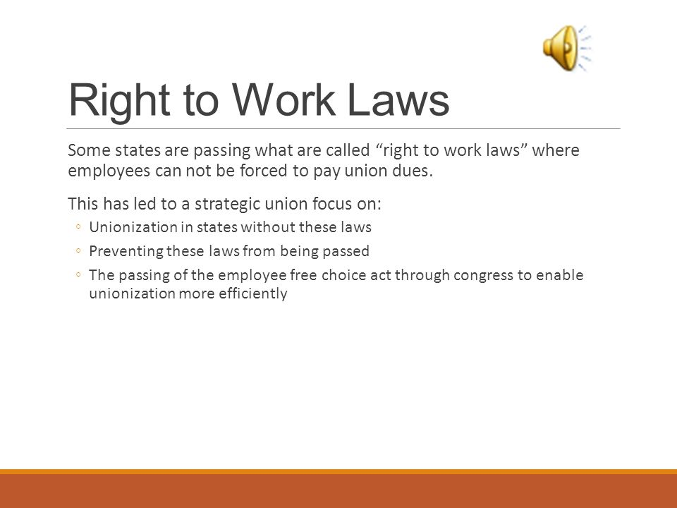 Comparison of Right to Work States vs. Non Right to Work JAMES B. AVEY PHD MARCH 2009