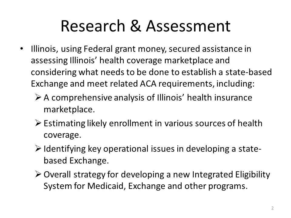 Illinois has options for structuring small group market.