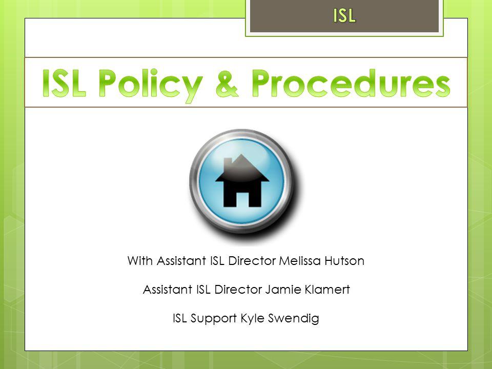 Assistant ISL Director Jamie Klamert ISL Support Kyle Swendig With Assistant ISL Director Melissa Hutson