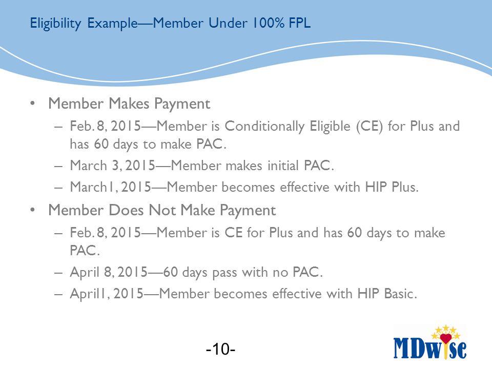 Member Makes Payment – Feb.