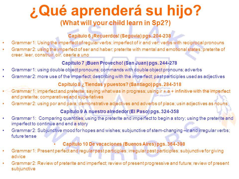 Capítulo 6 ¡Recuerdos. (Segovia) pgs.