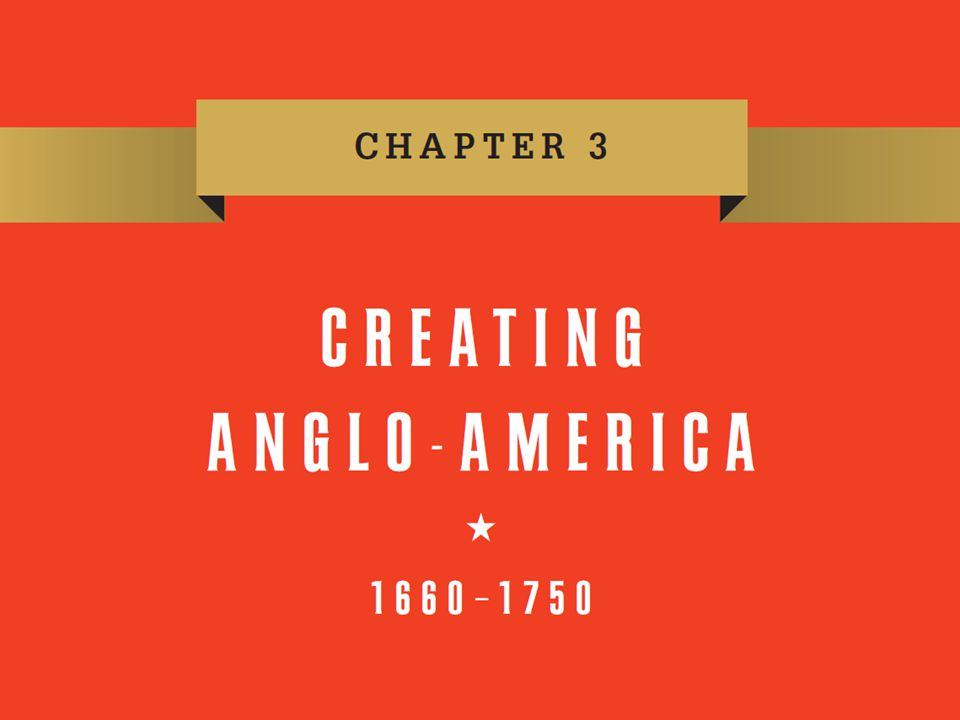 The Growth of Colonial America: The Atlantic An Atlantic World