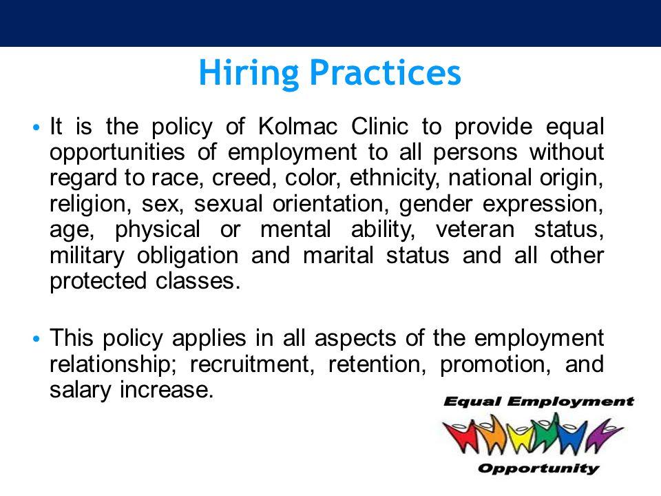 The Associate Staff Member Program The Clinic has established an Associate Staff Member Program.