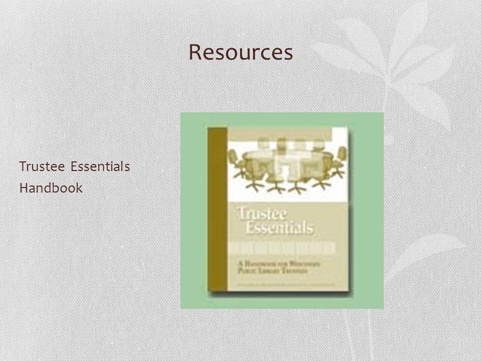 Resources Trustee Essentials Handbook