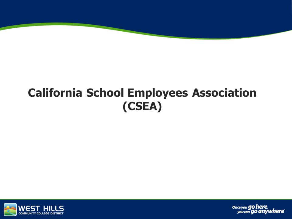 Capital Investments California School Employees Association (CSEA)