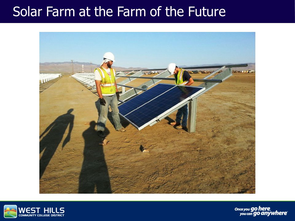 Capital Investments Solar Farm at the Farm of the Future
