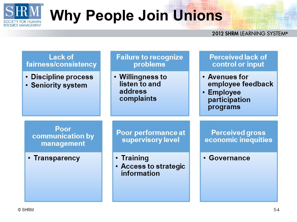 Secondary Boycotts When union attempts to influence an employer by exerting pressure on another employer.