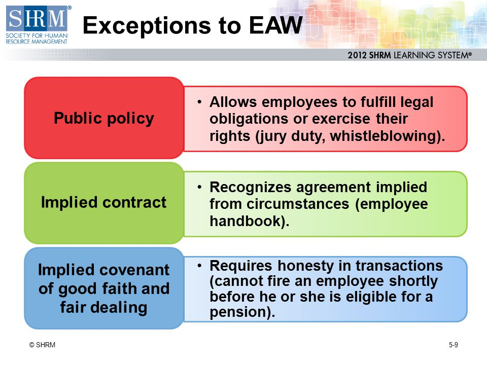 Feedback and Communication in Union-Free Organizations 5-20© SHRM Attitude (climate) surveys HR/labor relations reviews Skip-level interviews Open-door meetings Department meetings Employee participation programs Electronic communications