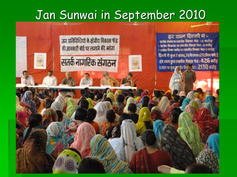 Jan Sunwai in September 2010