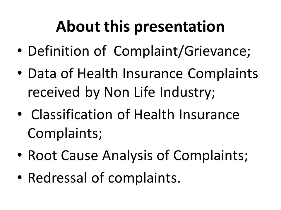 CLAIM RELATED COMPLAINTS..contd.