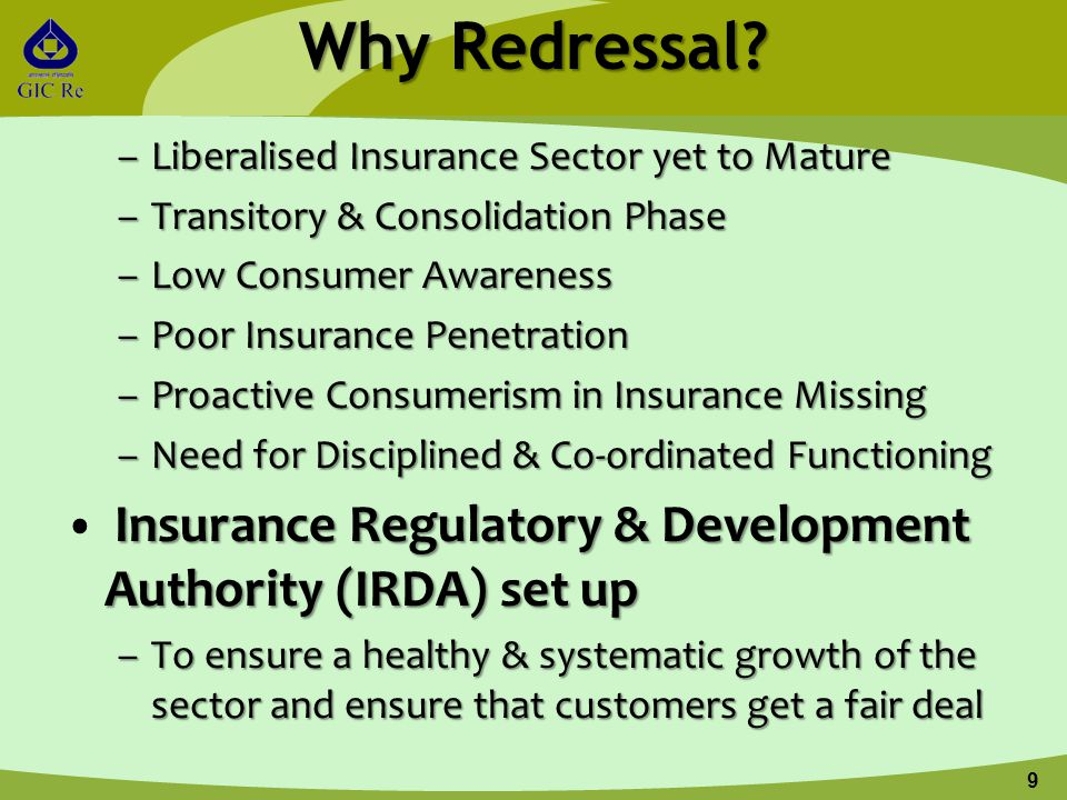 Why Redressal.
