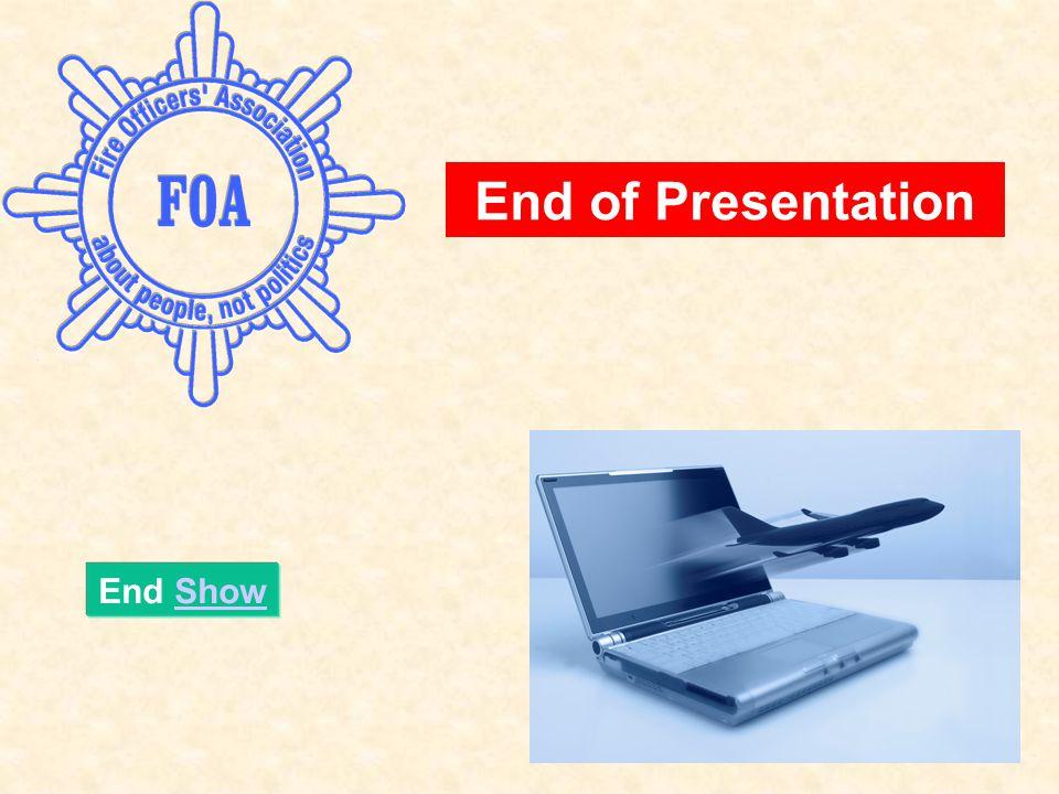 End ShowShow End of Presentation