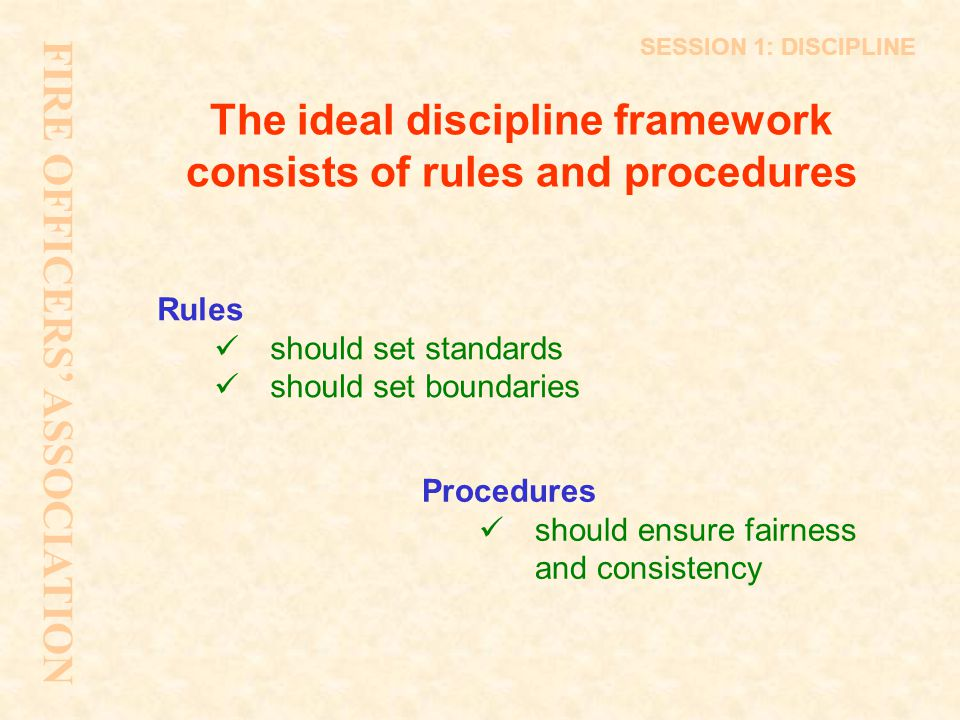 Burden of Proof All disciplinary meeting decisions will be made on the balance of probabilities This means that the alleged offences are more likely to have occurred than not The test is not one of proving allegations beyond all reasonable doubt SESSION 5: DISCIPLINE
