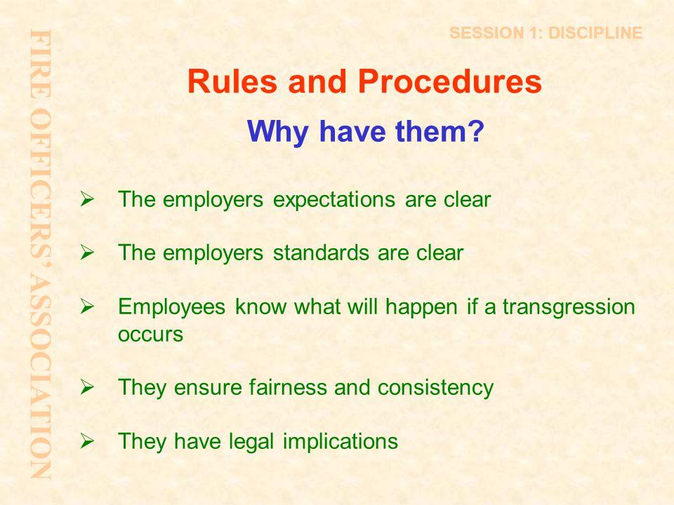 Grievance procedures Why.