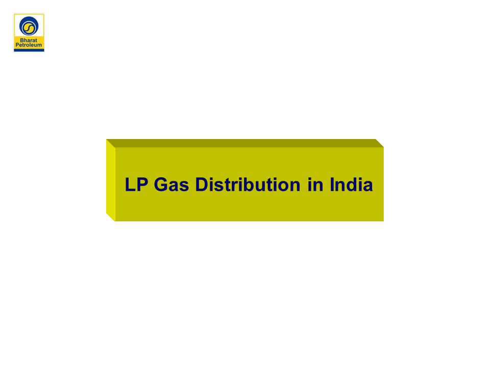 LP Gas Distribution in India