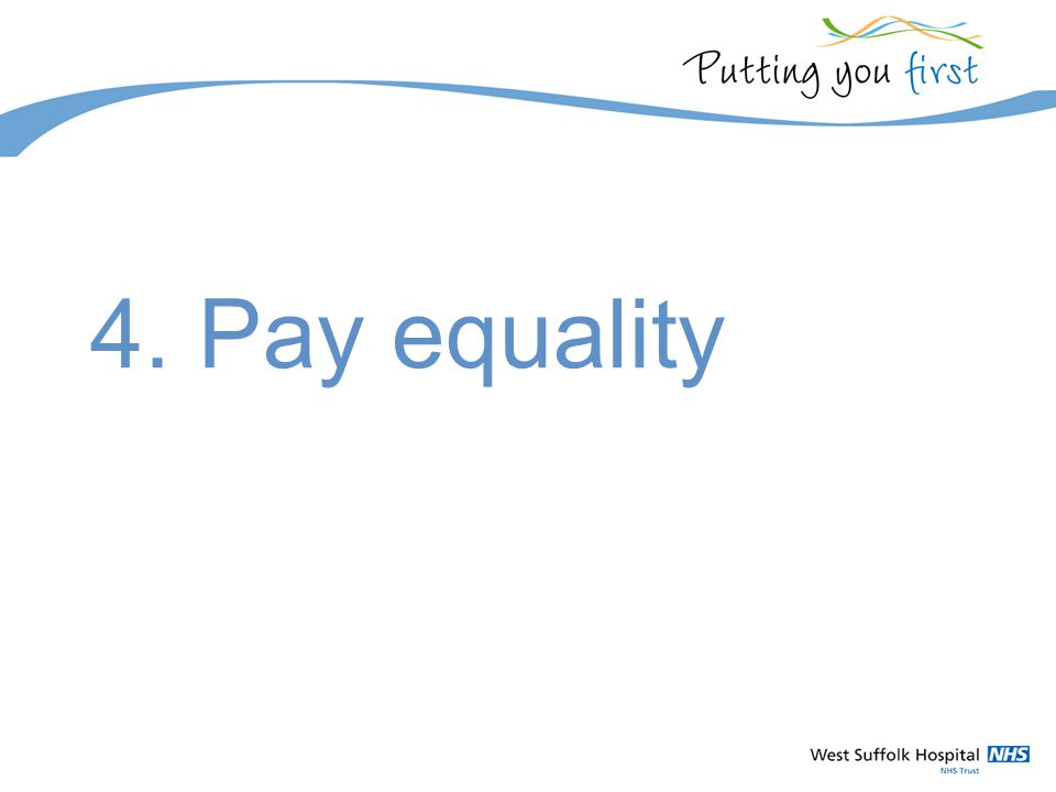 4. Pay equality