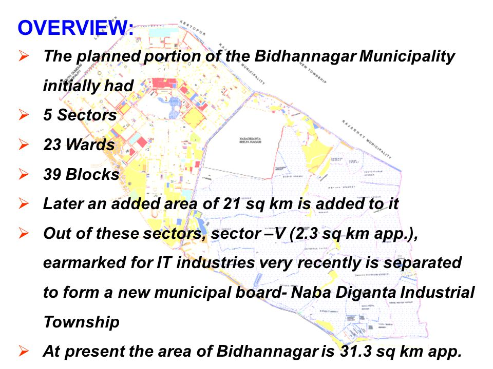 SPECIAL CHARACTERISTICS:  The planned township has residents from the LIG, HIG & MIG of the society.