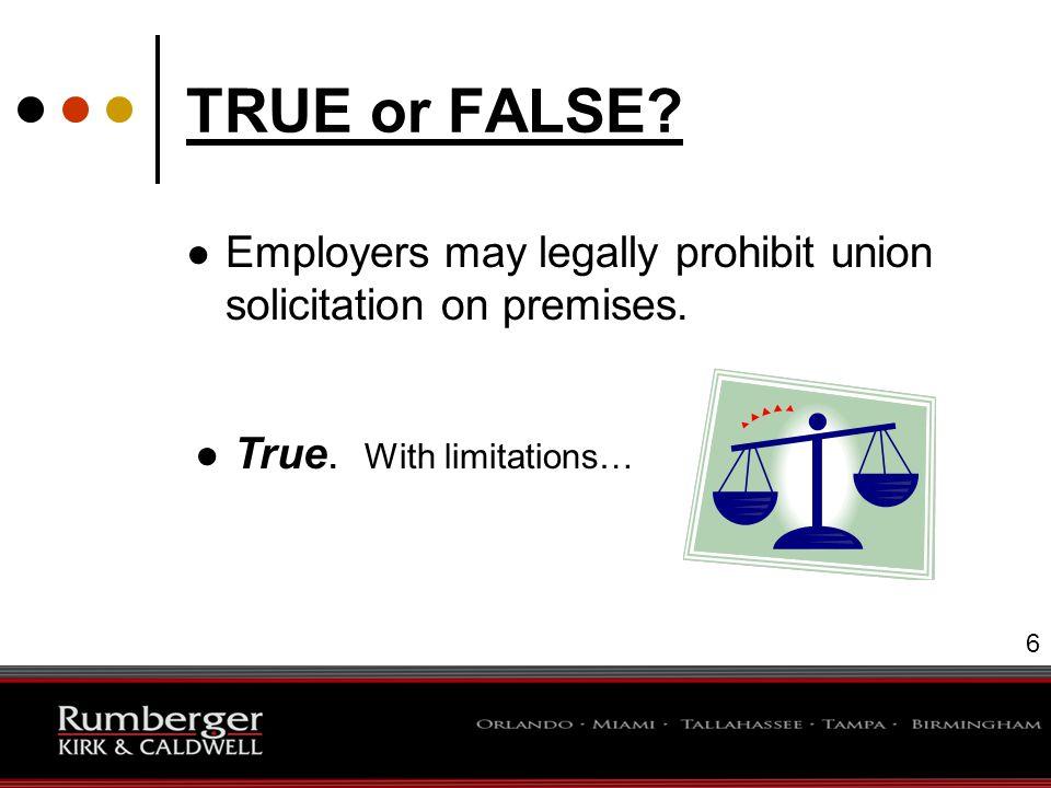 7 TRUE or FALSE.